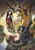 Triple Goddess Card