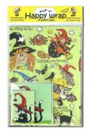 Witchy Gift Wrap & Card Pack