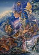 Once in a Blue Moon Card - Josephine Wall