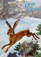 Midwinter Rune Hare Card