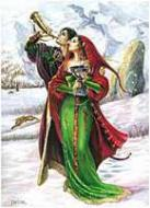Welcoming Yule Card