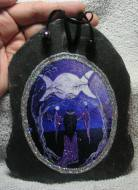 Triple Moon Goddess Slate
