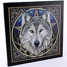 Lisa Parker Wolf Head Plaque