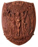 Triple Goddess Plaque