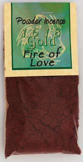 1618 Fire Of Love Powder Incense