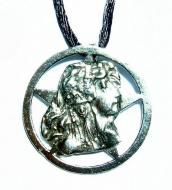 Love Goddess Pentagram Pendant