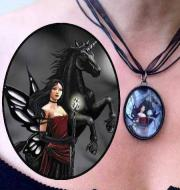 Lisa Parker Defenders of the Realm Pendant