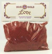 1618 Love Powder Incense