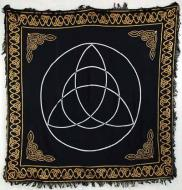 Large Gold Border Triquetra Cloth