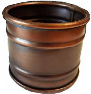 Tin Smudge Pot