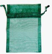 Small Green Organza Bag