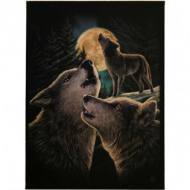 Wolf Song Wall Plaque