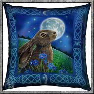 Lisa Parker Moon Gazing Hare Cushion