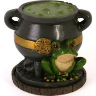 Lisa Parker Cauldron & Frog Incense Burner