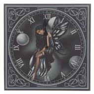 Lisa Parker Dark Fairy Bubbles Picture Clock