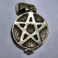 Pentacle Locket Pendant