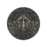 Green Man Winter Plaque