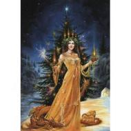 Lady Of The Lights Card