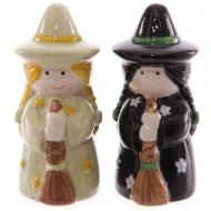 Lisa Parker Ceramic Witches Salt & Pepper Set