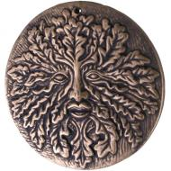 Lisa Parker Terracotta Green Man Wall Plaque