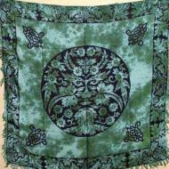 Green Man Altar Cloth