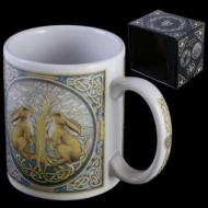 Lisa Parker Moon Gazing Hares Mug