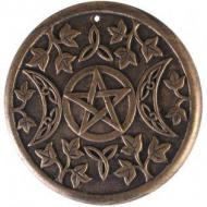 Lisa Parker Terracotta Triple Moon Wall Plaque