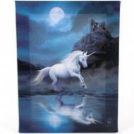 Moonlight Unicorn Plaque