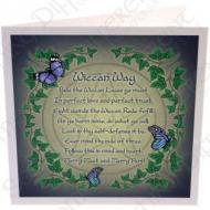 Wiccan Rede Card by Lisa Parker
