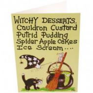 Witchy Desserts Card