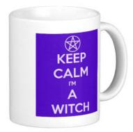 Keep Calm I'm a Witch Mug