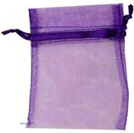 Small Purple Organza Bag