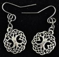 Celtic Tree Earrings