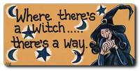 Where There's a Witch Magnet