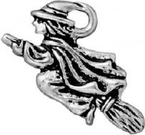 Witch On Broom Charm/Talisman