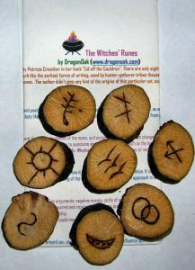 Wooden Witches Runes
