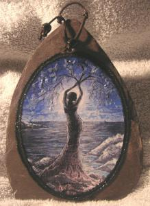 Sea Tree Goddess Slate