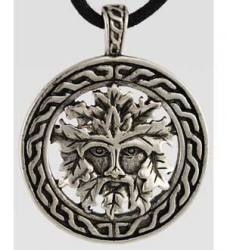 Green Man Amulet