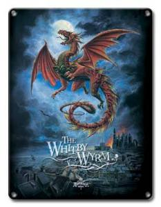 Whitby Wyrm - Metal Sign