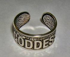 Goddess Toe Ring