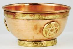 Pentagram Offering Bowl