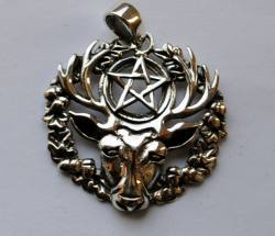 Lisa Parker Hart Of The Wildwood Pendant - Silver