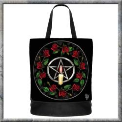 Pentagram Rose Tote Bag