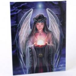 Yule Angel Plaque