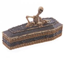 Skeleton Casket Trinket Box