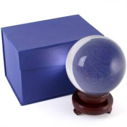 Crystal Ball - 130 mm - With Wooden Stand