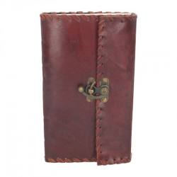 Leather Journal with Lock