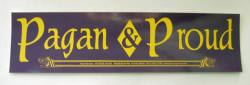 Pagan and Proud Sticker