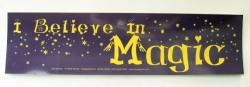 I Believe in Magic Sticker