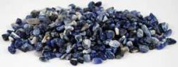 Sodalite Tumbled Stones - Medium